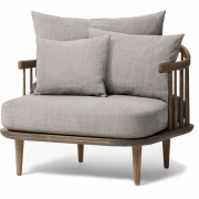 &tradition - Fly SC1 Chair 87 x 80 cm | Hot Madison (094) / Oak smoked