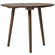 &tradition - In Between Table SK3 ronde 90 cm | Chêne fumé