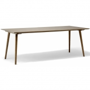 &tradition - In Between SK5 Table 200 x 90 cm | Oak smoked
