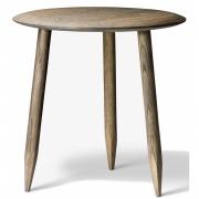 &tradition - Hoof SW1 Tisch 50 cm   Eiche geräuchert