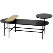 &tradition - Palette JH7 Table Black ash