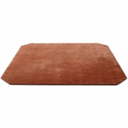 &tradition - The Moor AP6 Teppich Quadratisch 240 x 240 cm | Rot