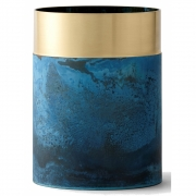 &tradition - True Color LP5 Vase Brass / Blue