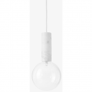 &tradition - Marble SV5 lampe à suspension Marbre 5 cm x 16 cm Verre
