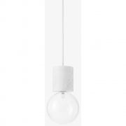 &tradition - Marble SV2 lampe à suspension Marbre 8 cm x 13 cm Verre