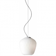 &tradition - Blown SW3 lampe à suspension 28 cm | Blanc opale