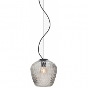 &tradition - Blown SW3 Pendelleuchte 28 cm | Silber