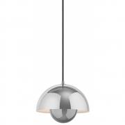 &tradition - Flowerpot VP1 lampe à suspension acier poli