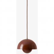 &tradition - Flowerpot VP1 Lampe à suspension Rouge-brun