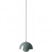 &tradition - Flowerpot VP1 Lampe à suspension Bleu pierre