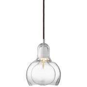 &tradition - Mega Bulb SR2 Pendant Lamp Clear | Black