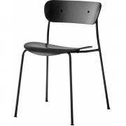 &tradition - Pavilion AV1 Chair Black lacquered oak