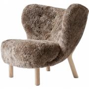 &tradition - Little Petra VB1 Lounge Sessel Sheepskin Sahara (Eiche)