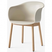 &tradition - Elefy Chair JH30 Soft Beige / Oak base