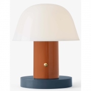 &tradition - Setago Table Lamp Rust & Thunder