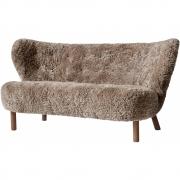 &tradition - Little Petra VB2 Sofa Sheepskin Sahara (Walnuss)