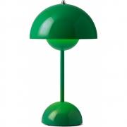 &tradition - Flowerpot Portable VP9 Lampe de table Signal vert