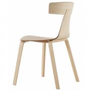 Plank - REMO Wood Stuhl mit Holzgestell