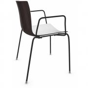 Arper - Catifa 46 0251 fauteuil bicolore