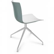 Arper - Catifa 46 0368 chaise pied étoile bicolore
