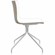 Arper - Catifa 46 0257 Chair Star Base chrome bicoloured