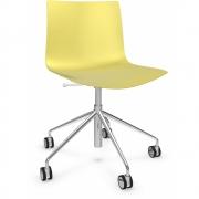 Arper - Catifa 46 0294 / 0291 chaise pivotante chromé mono
