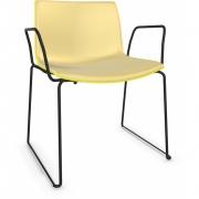 Arper - Catifa 53 2074 Sled Base Chair with Armrests