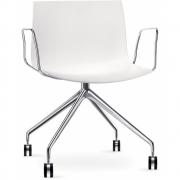 Arper - Catifa 53 2055 Armchair with Castors fix