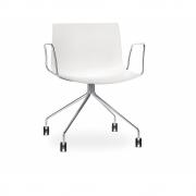 Arper - Catifa 53 0219 Armchair with Castors fix chrome