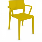 Arper - Juno 3602 Armchair Yellow