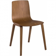 Arper - Aava 3910 Wooden Chair