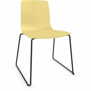 Arper - Aava 3945 Chair Sled Base Yellow | Black