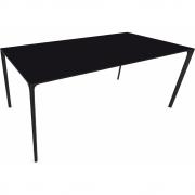 Arper - Nuur 0803 Tisch rechteckig 180 x 90 cm | Schwarz