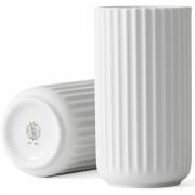 Lyngby - Vase matt weiß 15 cm