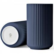 Lyngby - Vase midnight blue 25 cm