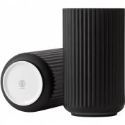 Lyngby - Vase black 20 cm