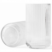 Lyngby - Vase Glas klar 25 cm