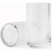 Lyngby - Vase Crystal clear 31 cm