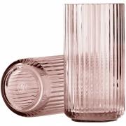 Lyngby - Vase Glass Copenhagen burgundy 20 cm