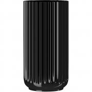 Lyngby - Vase Glass black 20 cm