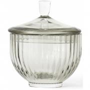 Lyngby - Candy Jar Glass smoke Ø 10 cm