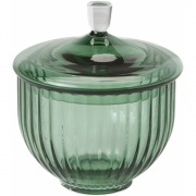 Lyngby - Candy Jar Glass Copenhagen green