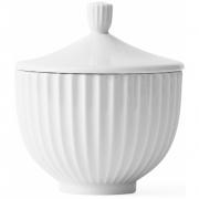 Lyngby - Bonbonniere weiß 10 cm