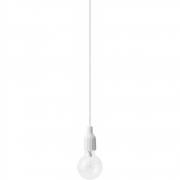 Lyngby - LP Fitting #1 Lampe suspension Blanc