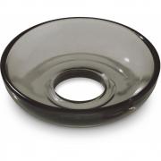 Holmegaard - Glasmanschette für Lumi Kerzenständer 8 cm | Smoke