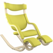 Varier - Gravity balans Chair Fame Bright Yellow 62067 | Ash Natural
