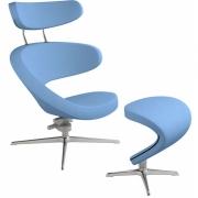 Varier - Peel Sessel mit Fußhocker Fame