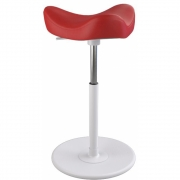 Varier - Move Stool Leather Base White