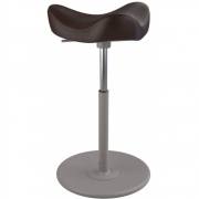 Varier - Move Stool Leather Base Grey