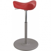 Varier - Move Small Stool Leather Base Grey